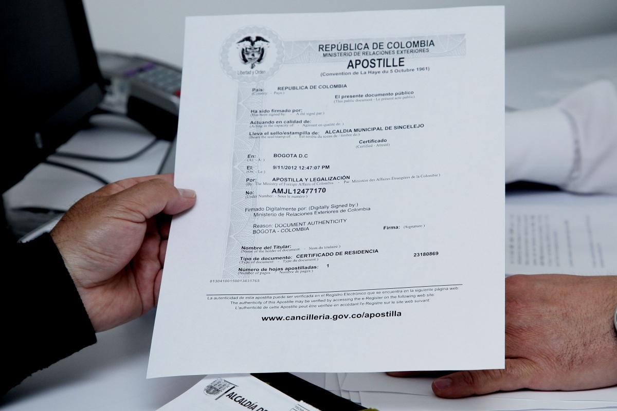 Apostilla en Línea para Antecedentes Judiciales y otros documentos ...