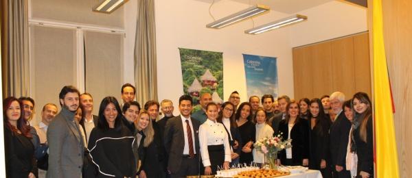Ana Belén Charry, finalista en Masterchef Colombia 2016 visitó el Consulado de Colombia en Milán