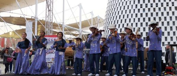 Gracias a Cancillería, los Violines Caucanos de Santander de Quilichao sonaron en Expo Milan 2015