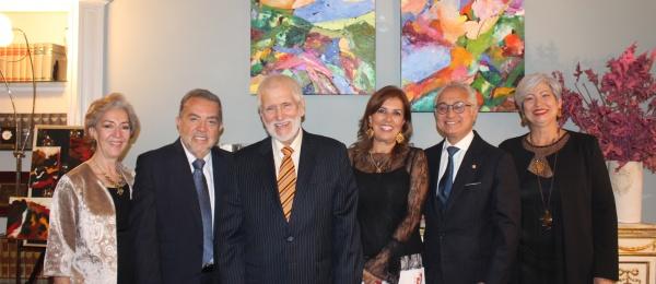 Cónsul de Colombia inauguró muestra de artistas huilenses