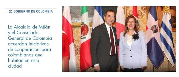 La Alcaldía de Milán y el Consulado General de Colombia acuerdan iniciativas de cooperación para colombianos que habitan en la ciudad