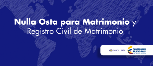 Requisitos para declaración de estado civil en italiano: Nulla Osta para Matrimonio y Registro Civil de Matrimonio